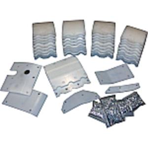 Poly Skid Plate Kit - 15' Header