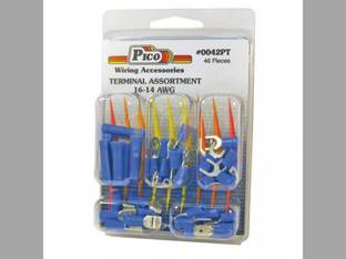 Wiring Terminal and Butt Connector Kit 16-14 AWG 46 Piece