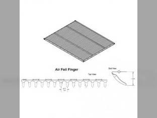 Top Adjustable Air Foil Chaffer Case IH 2388 2388 2577 2577 2588 2588 2377 2377 1347372C1