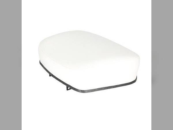 Seat Cushion Vinyl Black//White//Black Oliver 1950 1550 1750 1850 1650