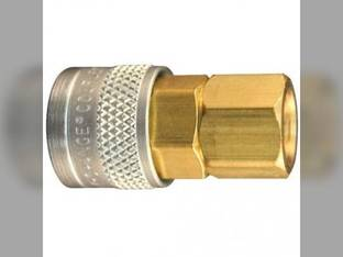 "Milton Air Tool Coupler – Female Push Type Body M-Style 1/4"" FNTP"