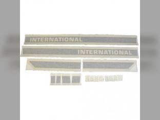 Decal Set International 1586