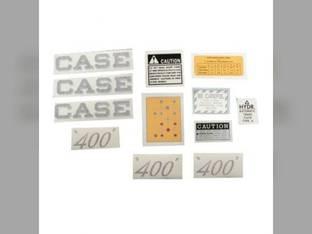 Decal Set Case 400