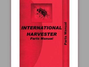 Parts Manual - 504 2504 International 2504 2504 504 504