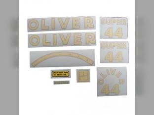 Tractor Decal Set Super 44 Vinyl Oliver Super 44