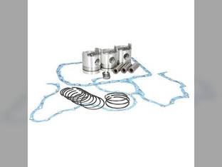 """Engine Rebuild Kit - Less Bearings - .020"""" Oversize Pistons BSD329 175 Ford 175 3300 3400 3110 3190 3120 3500 3150 BSD329 3330 3100 3310 3000"""