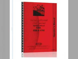 Operator's Manual - 6388 6588 6788 International 6588 6788 6388