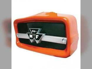 Nose Cone Assembly with Emblem Massey Ferguson 165 20 31 3165 150 180 175 2135 2135 30 30 135 194200M1