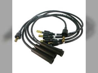 Spark Plug Wire Set - Custom International 284 Satoh S650 S550 Case G2160181600 G2160181700 G2160181800 G2160181900