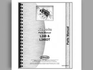 Operator's Manual - L245 L245DT Kubota L245 L245 L245