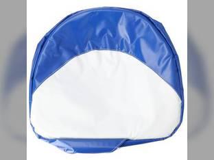 """Pan Seat Cushion - 19"""" Economy Blue & White Ford 2310 801 800 4130 7600 5100 8N 4600 2600 900 4100 2120 2110 6700 700 4140 4000 9N 3000 5000 335 7000 2N 5600 600 2000 3600 2610 6600 4110 7700 NAA"""
