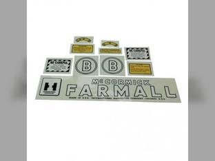 Mylar Decal Set - Farmall & B International B