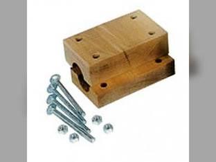Straw Walker Wood Block Bearing Set John Deere 7721 7720 8820 H119614