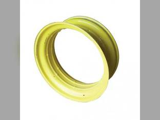 """16"""" x 46"""" """"Step-Up"""" Double Bevel Rear Rim 38"""" Center Yellow"""