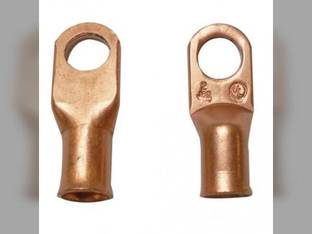 """Battery Cable Lugs Copper 2 Gauge 3/8"""" Stud Hole"""