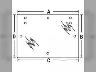 Cab Glass - Rear Upper Window Tinted FIAT F120DT F115DT F100 F115 F110 F120 F130 F110DT F100DT F140DT F130DT VPM7247