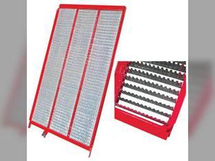 Bottom Sieve - Adjustable Blunt Finger New Holland CR970 CR9070 CX840 CX860 CX880 CX8070 CX8080 CX8090 CR980 CX820 CX8060 87109846 Case IH 8010 8120 9120 AFX8010 84320021