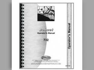 Operator's Manual - 732 Skid Steer Bobcat 732