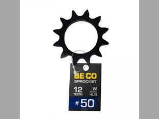 Weld-On Sprocket #50 Chain 12 Tooth W-Series Hub