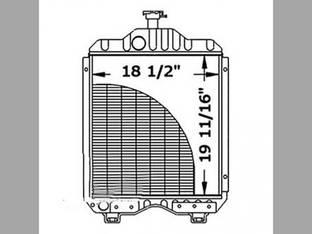 Radiator Kubota L355 L295 L305 15411-72062