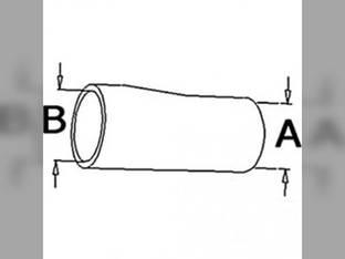 Radiator Hose - Lower White 2-150 10A30898