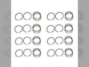 Piston Ring Set - Standard - 8 Cylinder Case 1060 1660 1010
