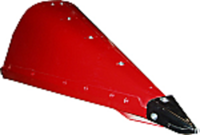 Cornhead Narrow Row Center Snout with Point - Steel
