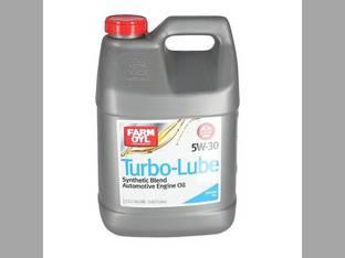 Farm Oyl Turbo-Lube Synthetic Blend Oil 5W-30 2.5 Gallons