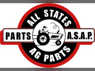 Pan Seat Cushioned Steel Vinyl Silver International B 350 130 444 100 A 330 300U 140 300 340 2444 Super A 357518R91