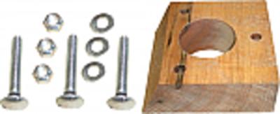 Distribution Auger Wood Block Bearing Set