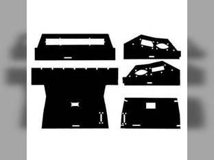 Cab Foam Main Headliner Black Basket Weave International 5088 3388 886 3688 986 5288 3288 Hydro 186 6788 3088 1486 6588 3788 1086 7288 3588 7488 6388 3488 1586 5488