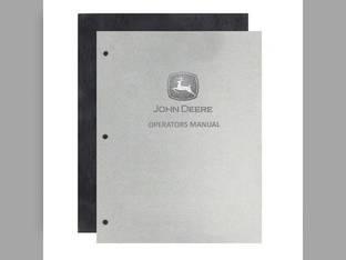 Operator's Manual - G John Deere G G OMR2009