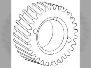 Crankshaft Gear International 21256 21206 806 1026 856 21456 1206 1456 Case IH 326705R1