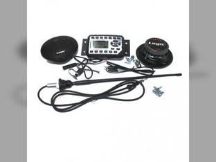 Jensen Mini Heavy-Duty Radio Kit for RT Track Loader Gehl RT175 RT210 RT250