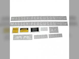 Tractor Decal Set 85 Diesel Vinyl Massey Ferguson 85