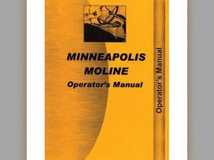 Operator's Manual - 17-30 Minneapolis Moline 17-30