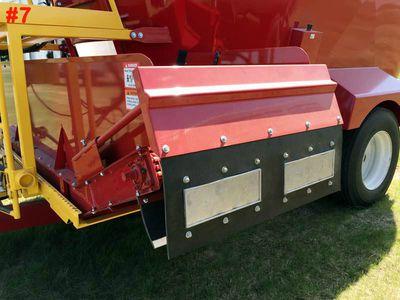 Conveyor Backstop Supreme, Segue Mixers