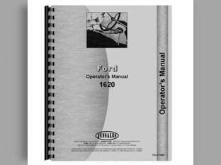 Operator's Manual - 1620 Ford 1620