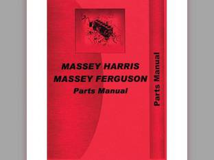 Parts Manual - 55 55K Massey Harris 55 55