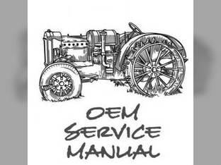 Service Manual - B7400 B7400HSD B7500D B7500HSD Kubota B7500 B7400