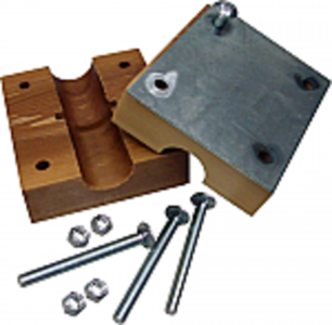 Straw Walker Wood Block Bearing Set