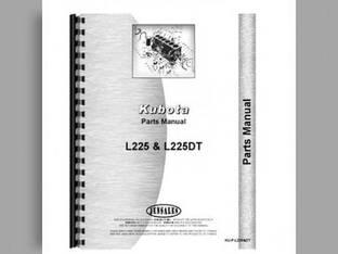 Parts Manual - L225 L225DT Kubota L225 L225 L225