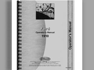 Service Manual - 1910 2110 Ford 2110 1910