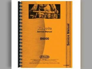Service Manual - B6000 Kubota B6000