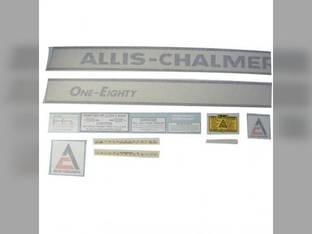 Decal Set 180 One-Eighty Vinyl Allis Chalmers 180