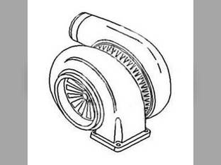 Turbocharger John Deere 5200 7520 5400 6030 SM180729
