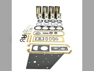 """Engine Rebuild Kit - Less Bearings - 4.125"""" Overbore Allis Chalmers WF WC WD D TL10 201"""