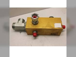 Used Hydraulic Drain Manifold Block Case IH 7120 8010 7010 87611498