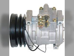 Air Conditioning Compressor - w/Clutch Denso Style John Deere 6610 7800 6710 2256 6650 6750 7500 2054 6810 7700 7300 2056 7400 2264 6850 6950 7200 2064 2266 2066 2254 2058 2258 6910 SE501821