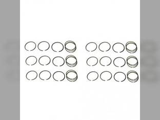 "Piston Ring Set - .030"" Oversize - 6 Cylinder Minneapolis Moline 504 G1350 G707 G1000 G705 A4T 1400 G708 A4T 1600 G704 G1050 G706 Oliver 2055 2455"